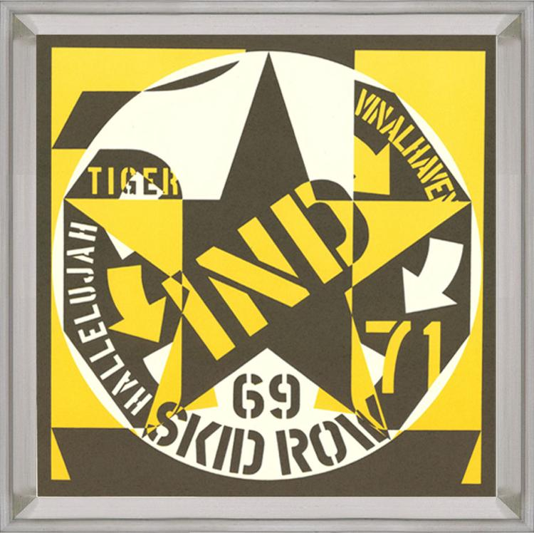 Robert Indiana - Skid Row - 1969