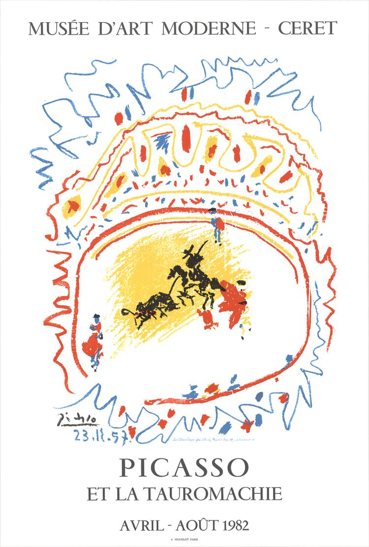 Pablo Picasso - Tauromachie - 1982