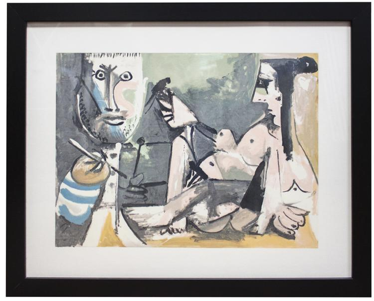 Pablo Picasso - The Artist and His Model - 1991