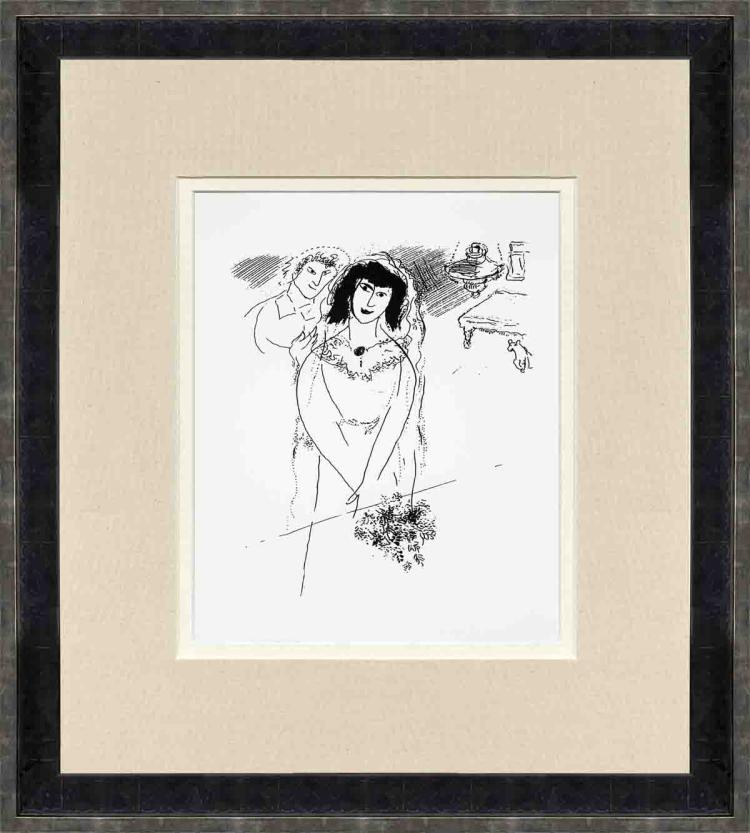 Marc Chagall - The Birthday - 1992