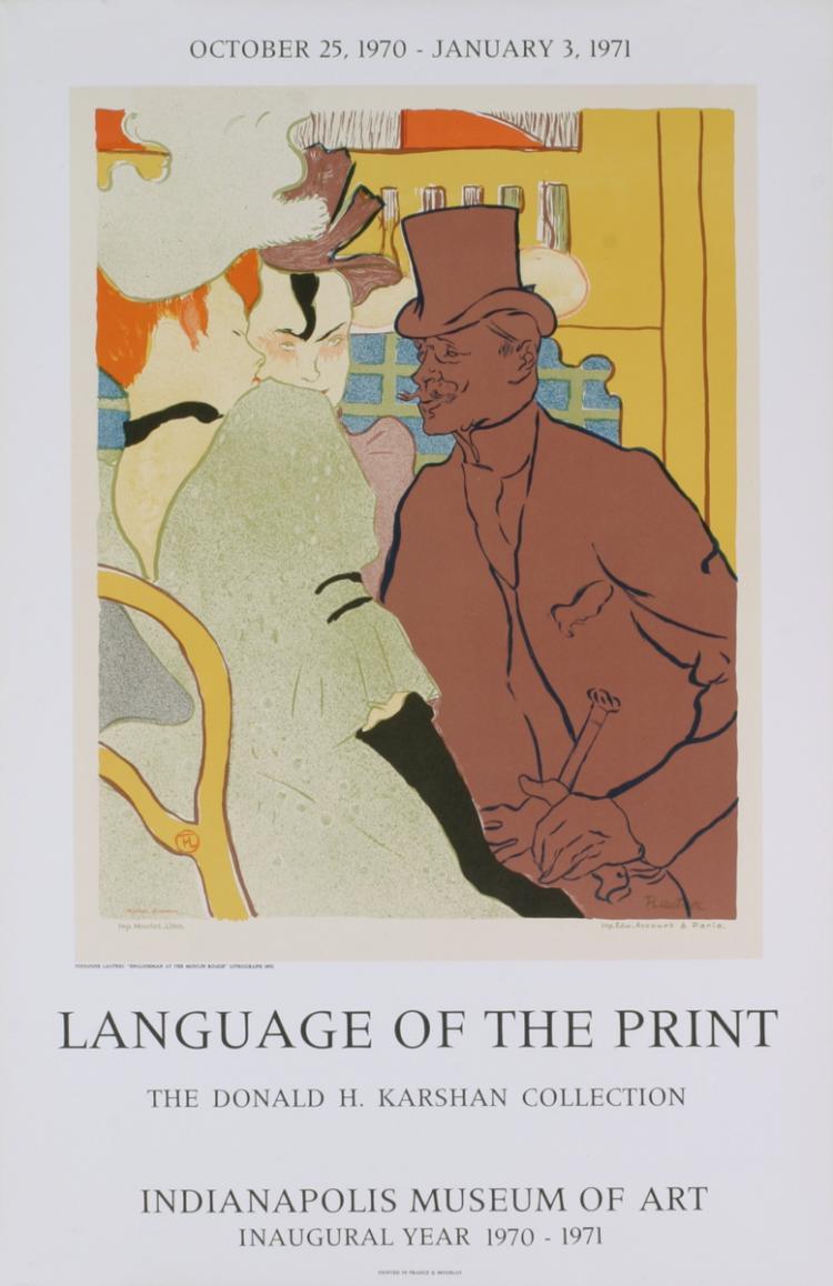 Henri de Toulouse-Lautrec - The Englishman - 1971