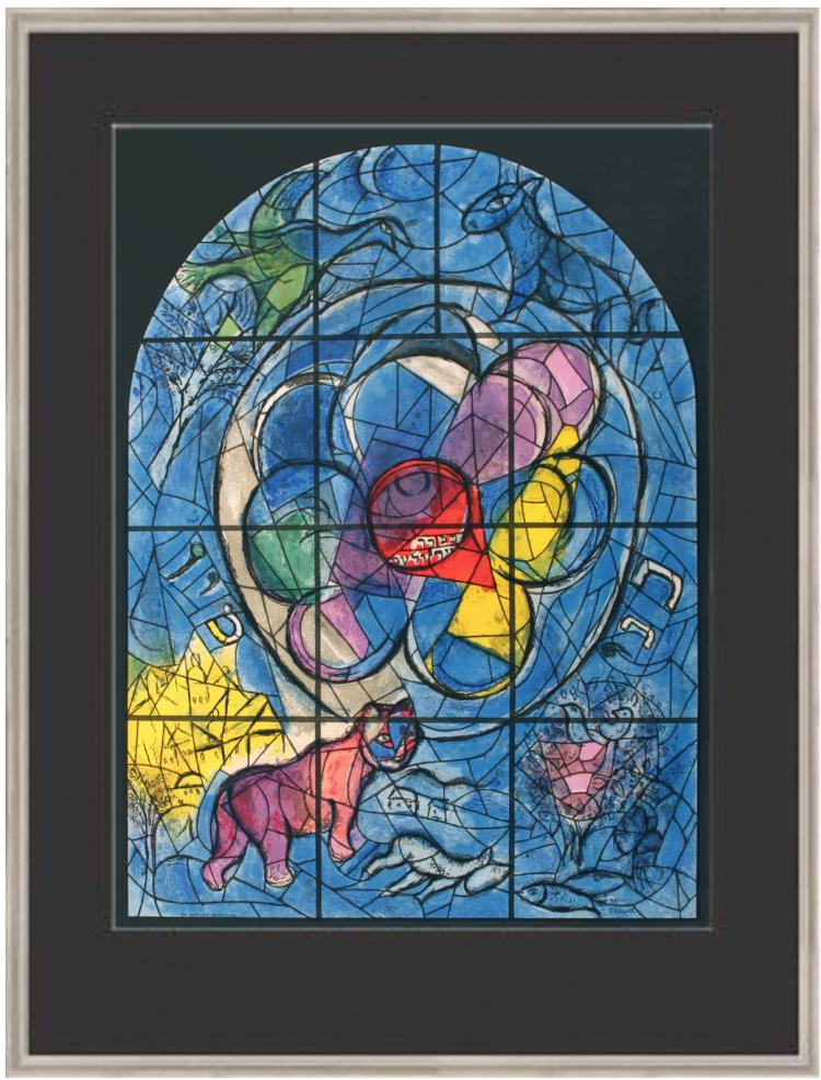 Marc Chagall - The Tribe of Benjamin - 1961