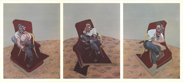 Francis Bacon - Three Studies Triptych - 1966