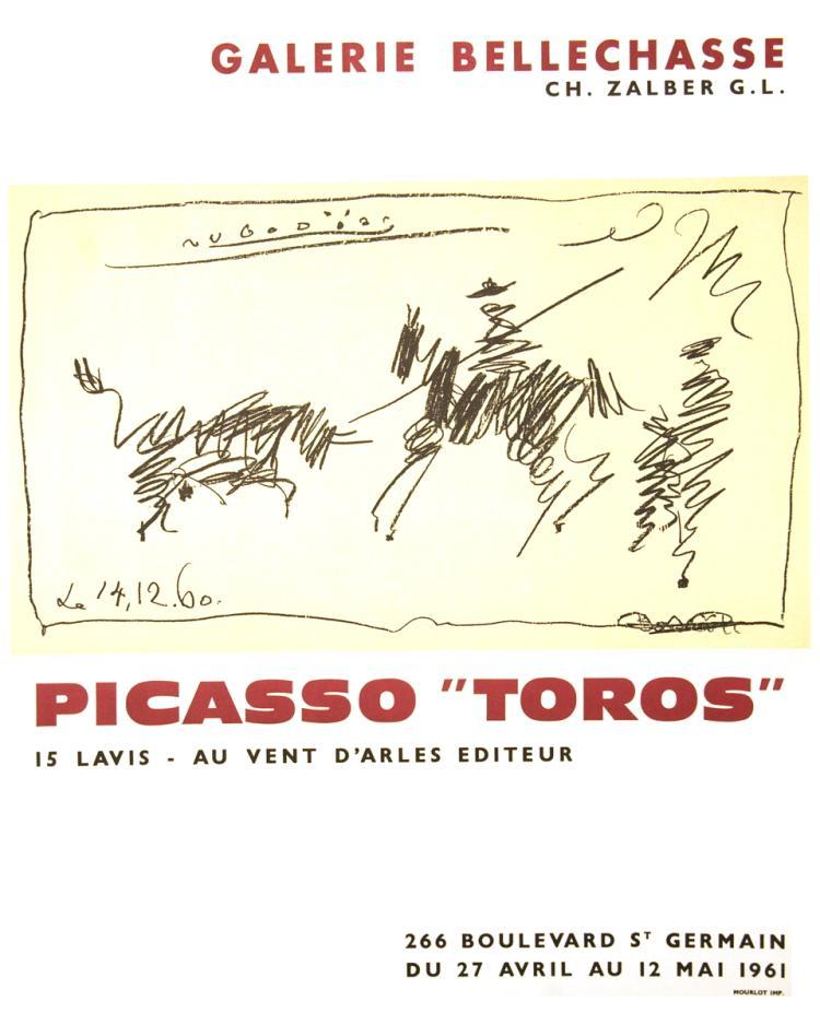 Pablo Picasso - Toros - 1961