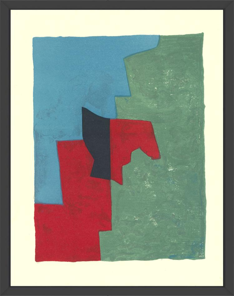 Serge Poliakoff - Untitled - 1961