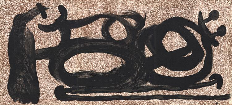 Joan Miro - Untitled - 1967