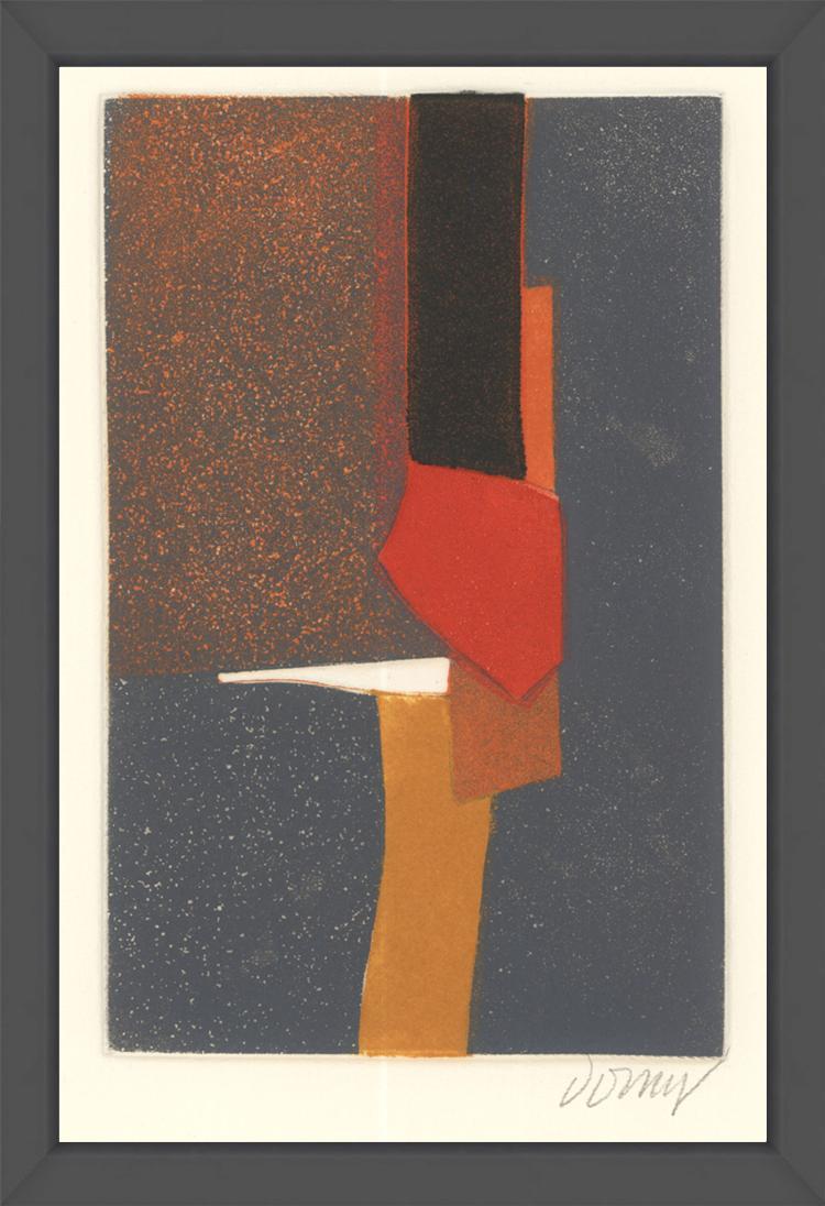 Bertrand Dorny - Untitled I - 1974 - SIGNED