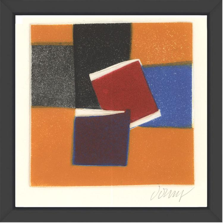 Bertrand Dorny - Untitled II - 1974 - SIGNED