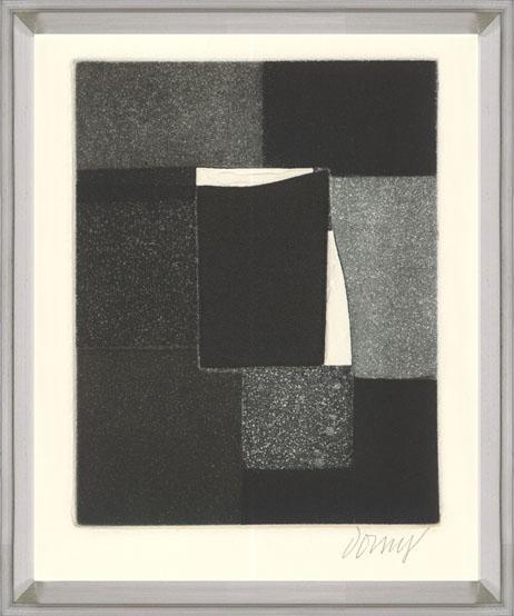 Bertrand Dorny - Untitled IV - 1974 - SIGNED