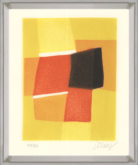 Bertrand Dorny - Untitled V - 1974 - SIGNED