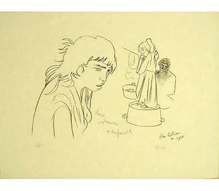 Jean Cocteau - Voleurs D'enfants - 1956