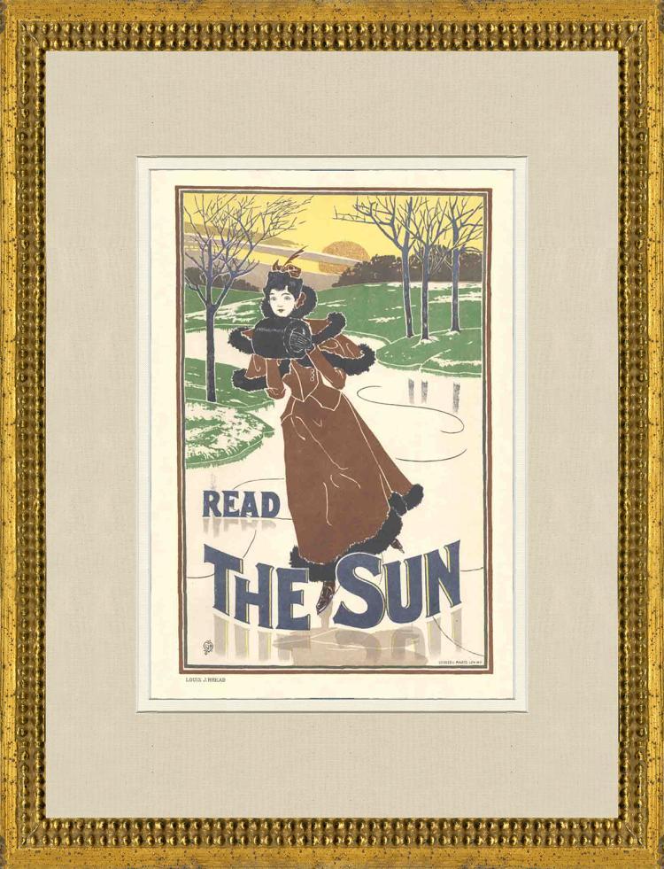 Louis J. Rhead - Read The Sun - 1897