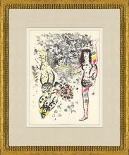 Marc Chagall - Acrobatics - 1963