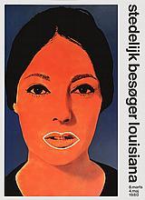 1980 Raysse Elaine Sturtevant Poster