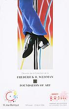Rosenquist Study for Fire Pole Poster