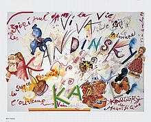 1992 Tinguely Homage a Kandinsky Poster