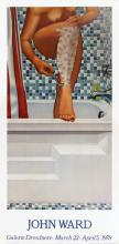 1978 Ward Nude Shaving Poster