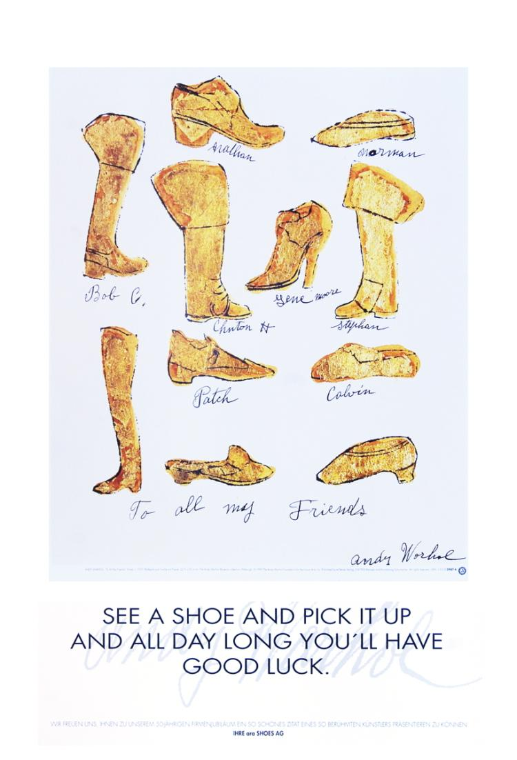 Warhol Shoes (1957) Poster