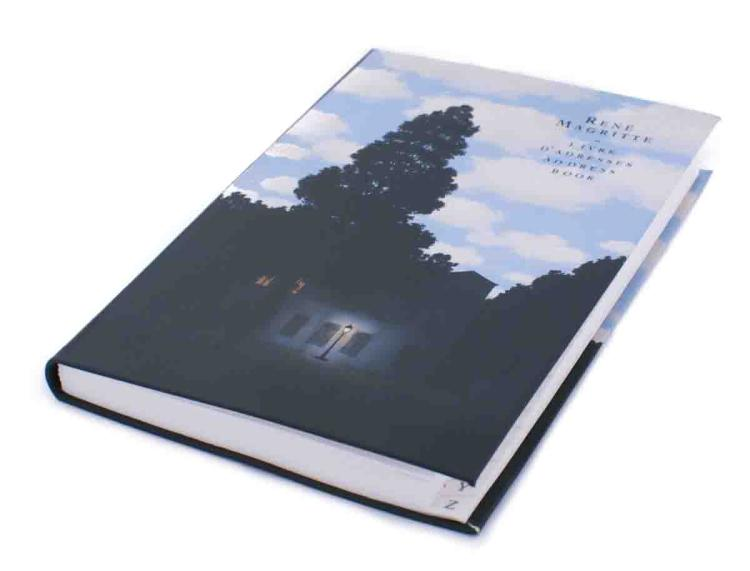 104 Rene Magritte 2012 Empire of Lights (P. Guggenheim, Venice) Address Books