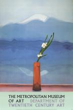 David Hockney - Mount Fuji with Flowers - 1988