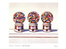 Wayne Thiebaud - Three Machines (1963) - 2005