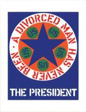 Robert Indiana - The President - 1997
