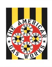 Robert Indiana - The American Gas Works - 1997