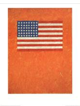Jasper Johns - Flag on Orange Field - 1997