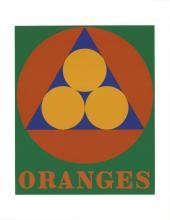 Robert Indiana - Oranges - 1997