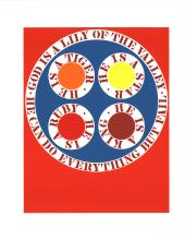 Robert Indiana - God Is Lily of the Valley - 1997
