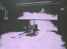 Andy Warhol - Electric Chair-Sunday B Morning - 1971