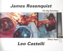 2 Assorted James Rosenquist Etching and Book