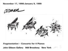 "Pierre Fernandez Arman - Fragmentation - 1999 Offset Lithograph - SIGNED 18"" x 24"""