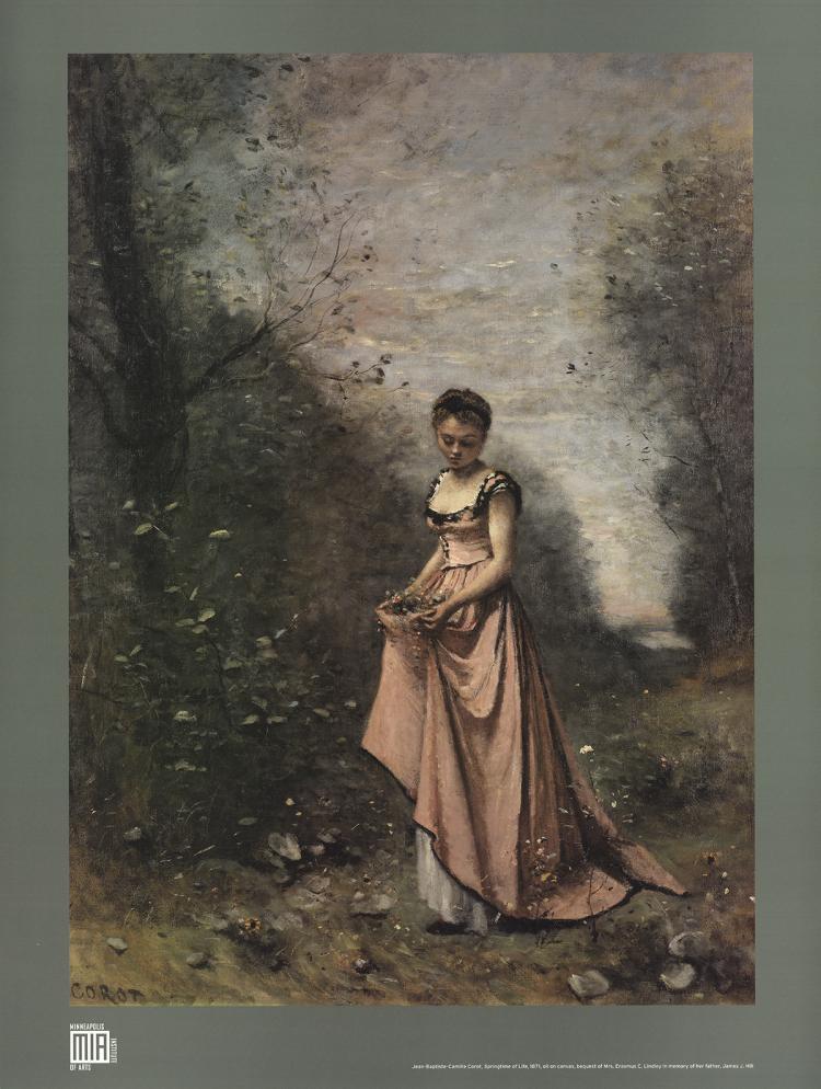 Jean Baptiste Camille Corot - Springtime of Life