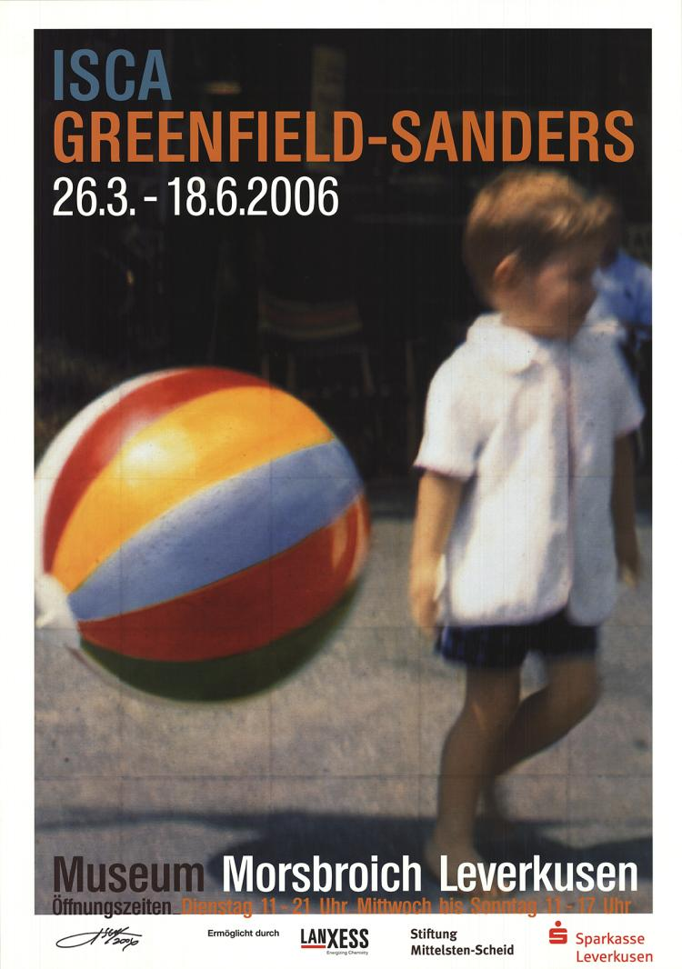 Isca Greenfield-Sanders - Tommy and the Ball - 2006 - SIGNED