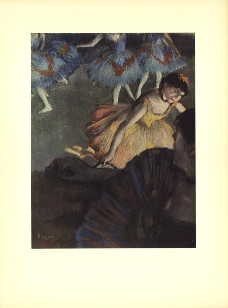 Edgar Degas - A Ballet Seen from an Opera Box