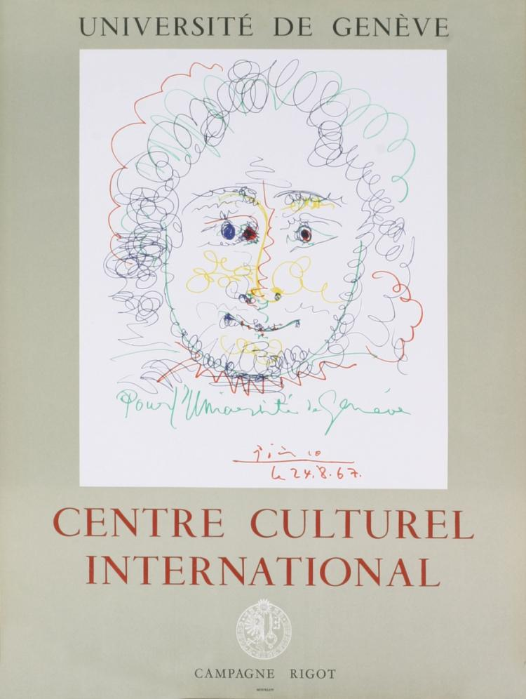Pablo Picasso - Centre Culturel International - 1967