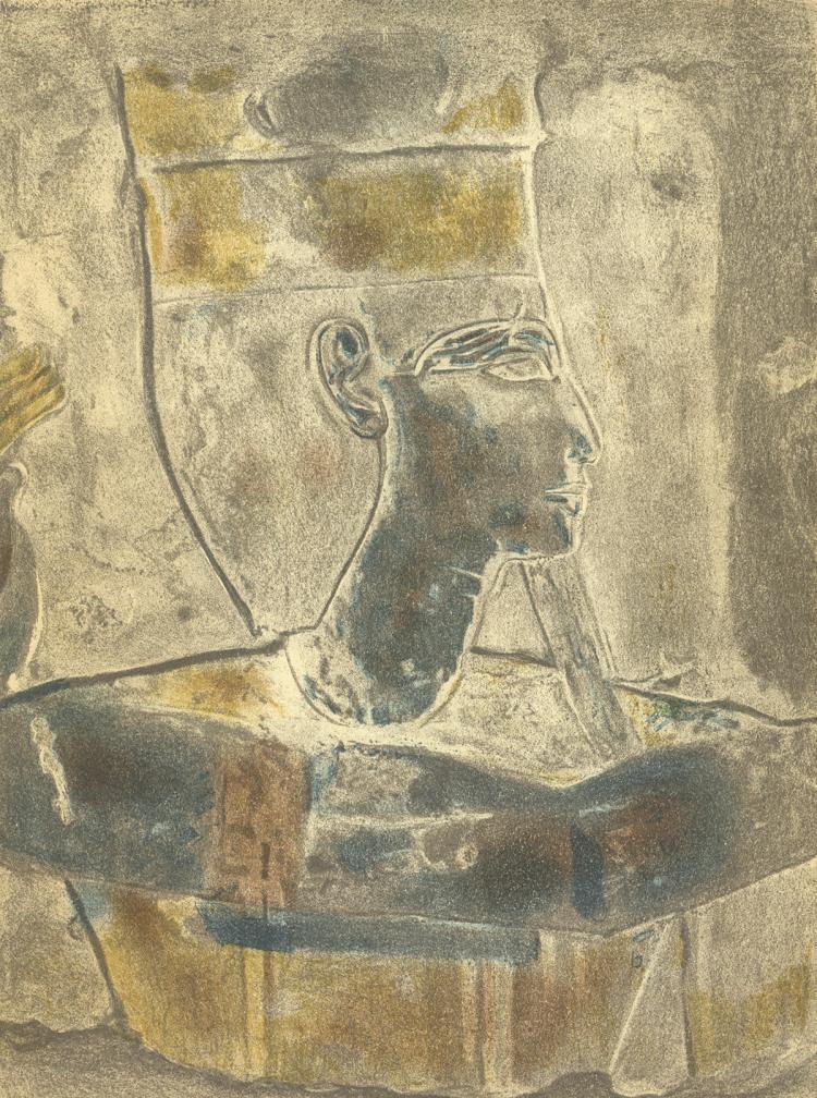 Head of a Byzantine Empress - 1948