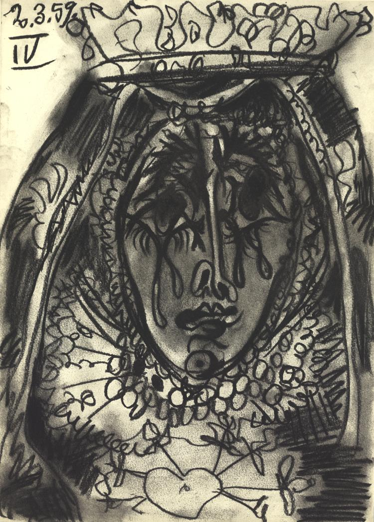 Pablo Picasso - La Dolorosa - 1959