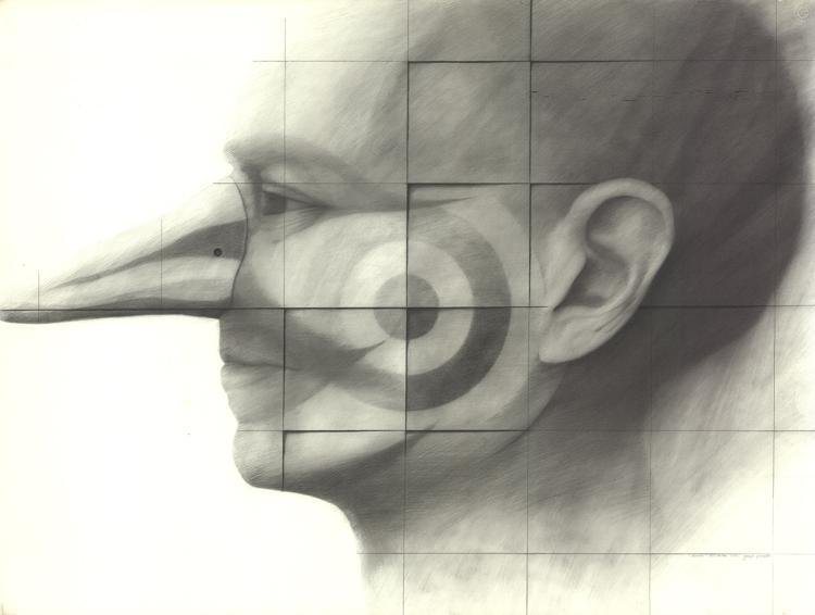 Joseph Piccillo - Study - 1972 - SIGNED