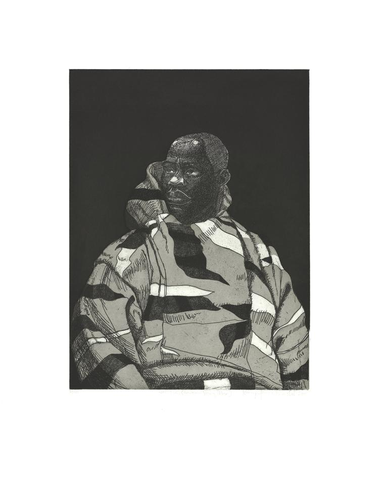 Kerry James Marshall - Untitled (Handsome Young Man) - 2010 - SIGNED