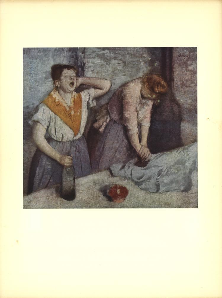 Edgar Degas - Two Laundresses