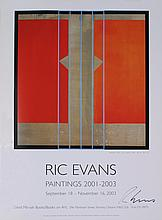 Signed 2003 Evans Secession Offset Lithograph