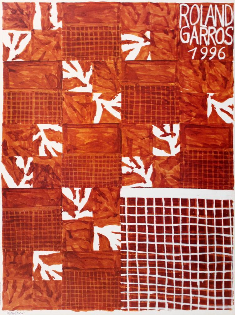 1996 Meurice Roland Garros Poster