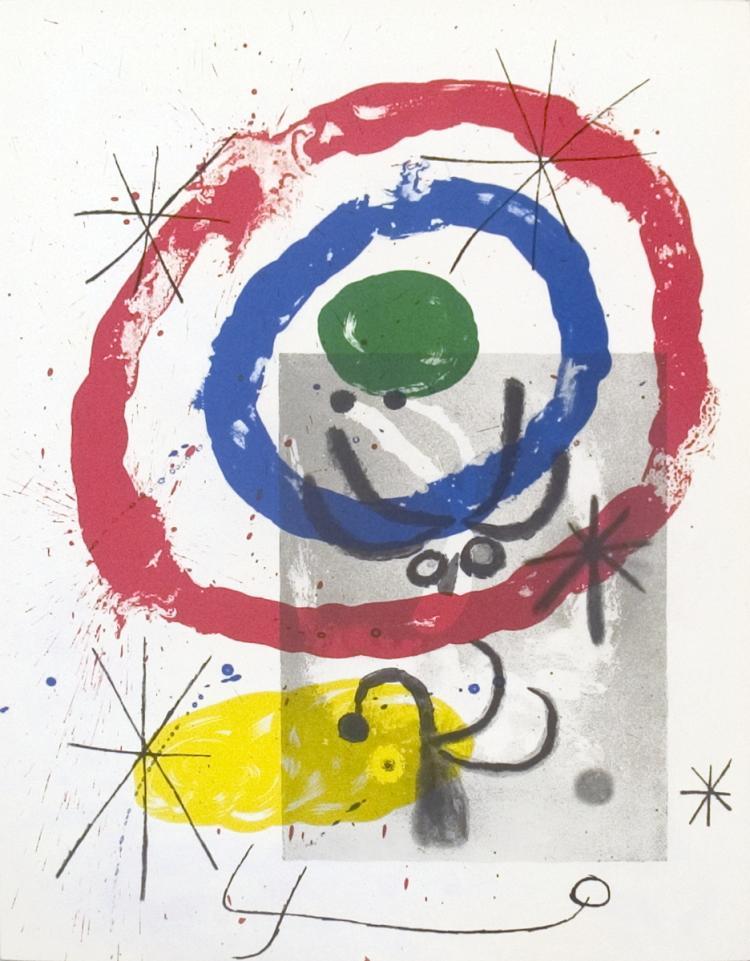 Joan miro derriere le miroir no 151 152 pg 11 1965 for Miro derriere le miroir