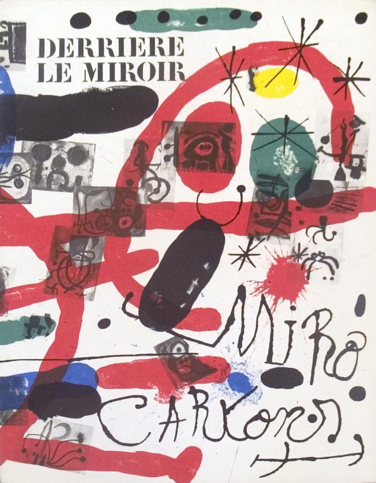Miro derriere le miroir 1965 for Miro derriere le miroir