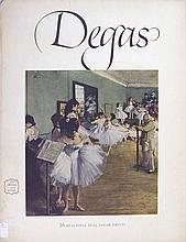 Edgar Degas- 16 Beautiful Full Color Prints - 1952