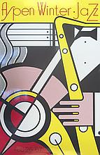 Roy Lichtenstein - Aspen Jazz - 1967