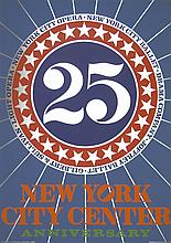Robert Indiana - New York City Center - 1968