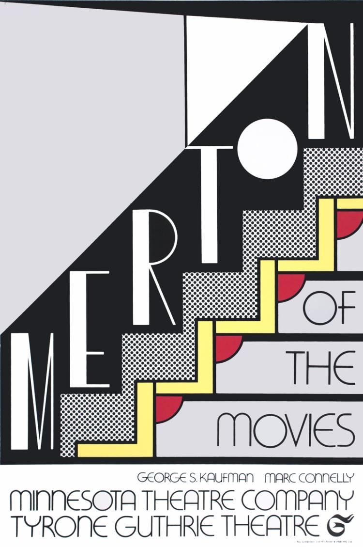 Roy Lichtenstein - Merton of The Movies - 1968